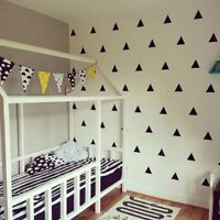 DIY Decor Removable Wall Sticker Vinyl Stickers Triangle Decal Home Decals