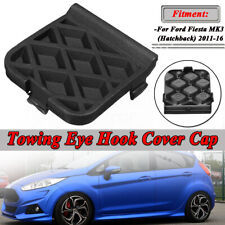 Black Tow Hook Cover Eye Cap Insert Rear Bumper For Ford Focus 2011-2016 NEW