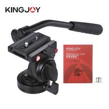Kingjoy flessibile di cavalletto testa fluida video treppiede per canon