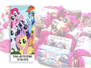 My Little Pony Mini Love Hearts Sweets Party Bag Fillers Kids Childrens #9