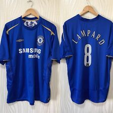 CHELSEA 2005 2006 HOME FOOTBALL SOCCER SHIRT JERSEY UMBRO #8 FRANK LAMPARD