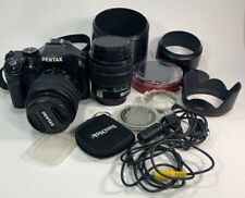 Pentax K2000 18-55mm DAL & 18-55mm DA Lenses With Many Filters Accessories