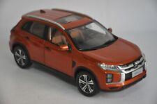 Mitsubishi Pajero ASX 2020 SUV model in scale 1:18 Orange