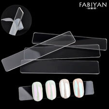 10Pcs/Set Nail Art Display Holder Clear Tips Acrylic Chart Tools Practice False