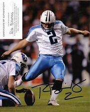 Tennessee Titans #2 ROB BIRONAS autographed signed 8x10 GEORGIA SOUTHERN (D)