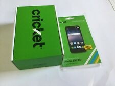 Alcatel Streak Smartphone Cricket Gray Android Phone Sealed Screen Protection