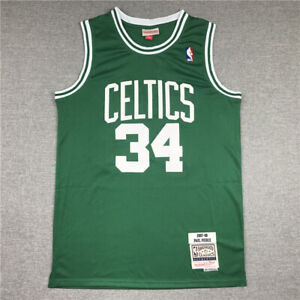 34# Paul Pierce Boston Celtics 2007-08 Classics Men's Swingman Jersey Green