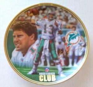 """1996 Bradford Exchange Dan Marino NFL Quarterback Club 8"""" Plate"""