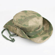 Men Military Tactical Camo Cap Short Brim Fishing Hiking Sun Bucket Hat Outdoor