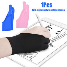 IG_ Two Finger Anti-fouling Glove Drawing Pen Graphic Digital Tablet Pad For Art