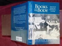 BOOKS of BODY: ANATOMICAL RITUAL & RENAISSANCE LEARNING/ANATOMY/RARE 1999