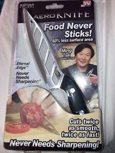 Aero Knife Kitchen As Seen On Tv Edge Never Needs Sharpening NEW