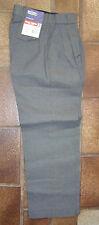 Hard Yakka Schoolwear Trouser  Gray size 8  free post POLY/VIS PLEAT