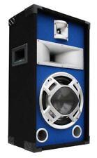 "400W E-Lektron DJ PA 3-Wege Blue-LED LAUTSPRECHER Disco PARTY BOX 25cm/10"" SPL25"