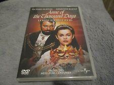 "RARE! DVD ""ANNE OF THE THOUSAND DAYS (LA REINE AUX MILLE JOURS)"" Richard BURTON"