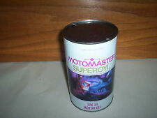 Canadian Tire Motomaster Superoyl 1 Imperial Quart 10W30 Oil Can Tin Moto-Master