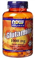 Pure L-glutamina cápsulas,1000 Mg X120caps; - síndrome del intestino irritable, IBS alivio