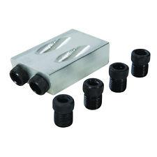 5 x Taschenloch Bohrvorrichtung 6,8,10mm Bohrerführungen,Bohrschablone,Bohrhilfe
