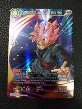 DRAGONBALL SUPER CARD GAME UNSTOPPABLE DESPAIR GOKU BLACK ROSE BT2-054 SR