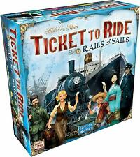 Ticket to Ride: Rails & Sails by Days of Wonder Board Games