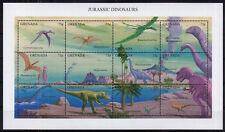 Grenada MNH SS, Jurassic Dinosaurs, Prehistoric Animals -Q37