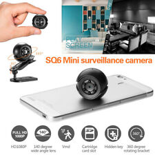 SQ6 1080P Mini Hidden Camera Security HD Camcorder Sport DV DVR Night Vision