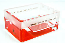 JPS, John Player Special, Kristall Aschenbecher, satinierte schwere Ausführung