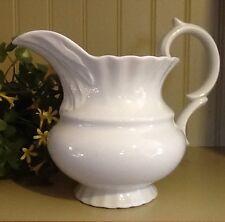 "I. Godinger & Co. White 7"" Tall Pitcher Vase French Country Baby Wedding Shower"