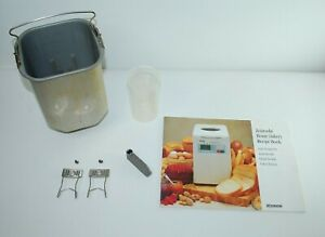 Zojirushi BBCC-S15 Bread Maker Replacement Bread Pan, Paddle, Cup, Clips, Book