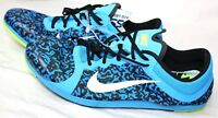 New Nike Zoom XC Mens Spikes Track Running Shoes Blue 844132 407 $90 Size 15
