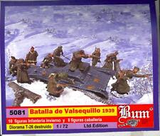 BUM Models 1/72 THE BATTLE OF VALSEQUILLO Spanish Civil War Figure Set