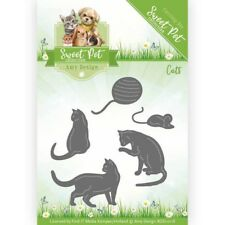 Amy Design Cutting & Embossing Dies - Sweet Pet - Cats  ADD10118