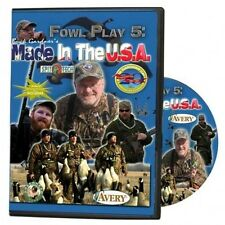 Buck Gardner Calls Fowl Play Five DVD: Made In The USA