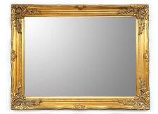 Specchiera Classica Rettangolare - 64x84 cm. - Specchio Oro Anticato