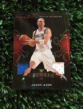 2011-12 Panini Black Box Basketball Crusade #93 JASON KIDD JERSEY #D /99