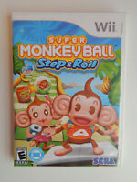 Super Monkey Ball Step & Roll Game Complete! Nintendo Wii
