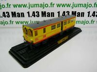AM11G Automotrices SNCF 1/87 HO : Train jaune motrice Z 105