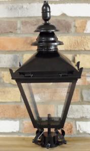 Black Victorian Style Lantern Top ( small )