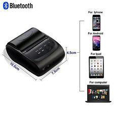 Mini Wireless Portable Bluetooth Thermal Printer Receipt for Android Windows iOS