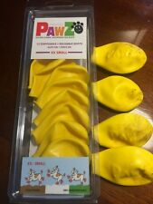 PawZ 12 Natural Rubber, Waterproof Dog Boots.XX SMALL