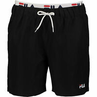 FILA Men's Black Swim Shorts - size S M L