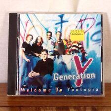 Generation Y Welcome to Youtopia CD Album 1995 Sparrow Xian Christian