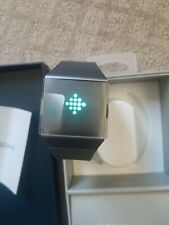 Fitbit Ionic Smartwatch FB503GYBK Charcoal Band & Smoke Gray Case BRAND NEW