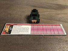G1 Minibots: vintage Brawn figure complete lot Outback