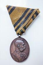 AUSTRO-HUNGARY badge medal 1848-1898 Ag WWI
