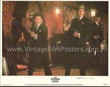 THE COTTON CLUB, two orig 1984 MINT Lobby Cards FRANCIS FORD COPPOLA, Cage, Gere