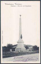 VERONA VILLAFRANCA DI VERONA 15 Cartolina viaggiata 1902