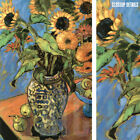 """24W""""x36H"""" SUNFLOWERS by JAE DOUGALL - BEAUTIFUL VASED FLORAL STILL LIFE CANVAS"""