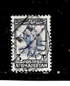 Afghanistan Stamp- Scott # 385/A124-3af-Canc/LH-1951-NG