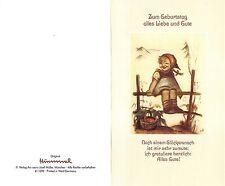 """Original Hummel Grußkarte mit Umschlag Ars sacra Verlag """"1222"""" unbeschrieben1980"""